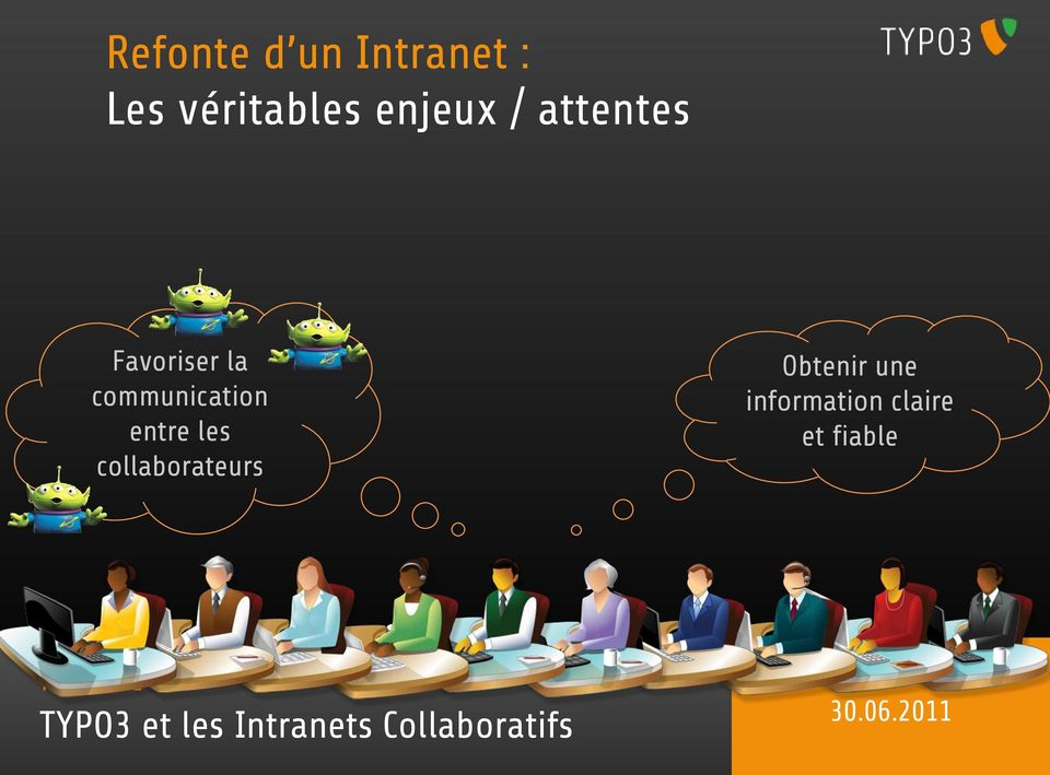 entre les collaborateurs Obtenr une