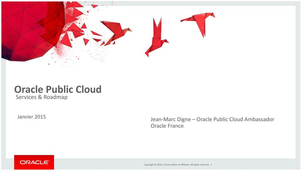 Marc Digne Oracle Public