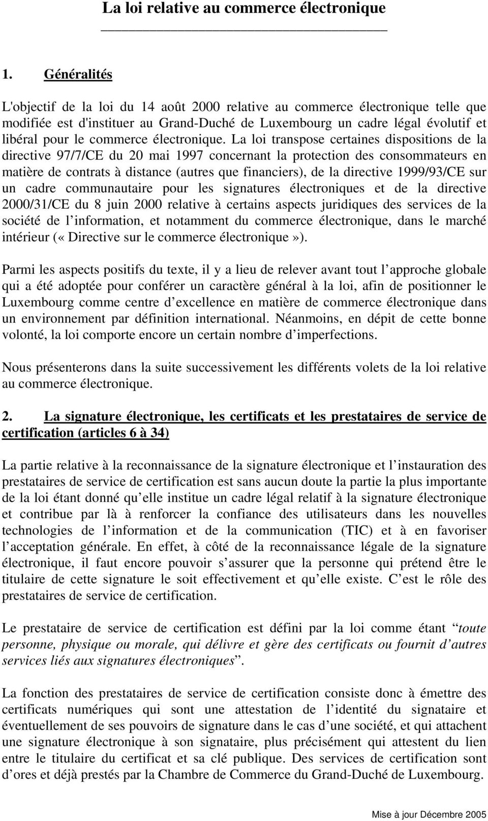 protection du consommateur piece of writing 42
