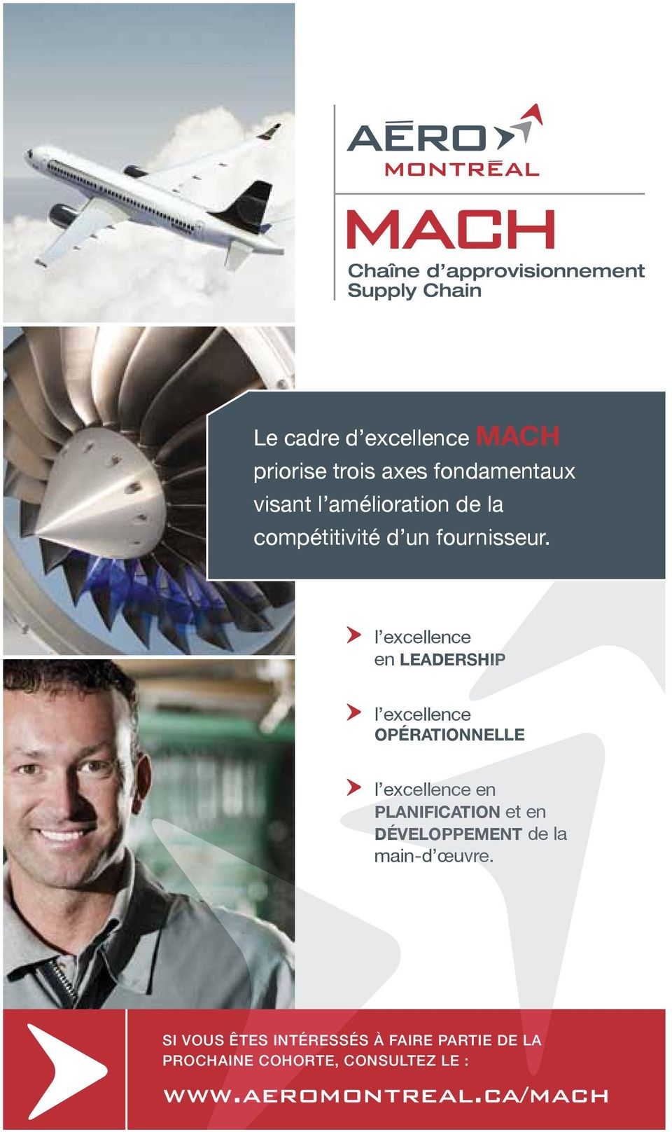 l excellence en LEADERSHIP l excellence OPÉRATIONNELLE l excellence en PLANIFICATION