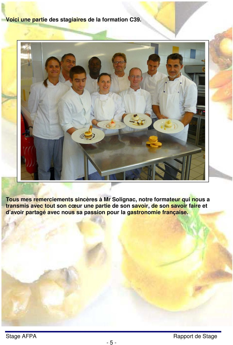 Afpa rennes formation pour certification - Formation cuisine rennes ...