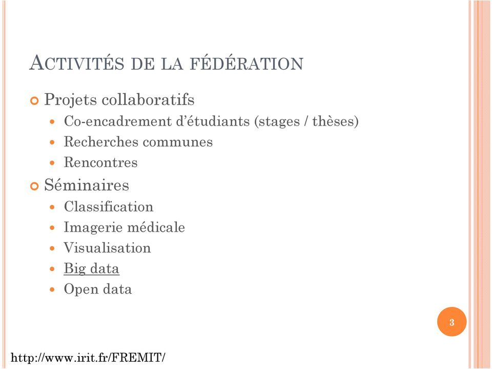 communes Rencontres Séminaires Classification Imagerie
