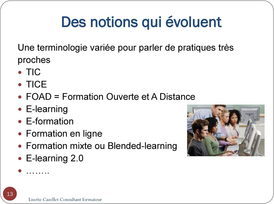 Formation Ouverte et A Distance E-learning E-formation