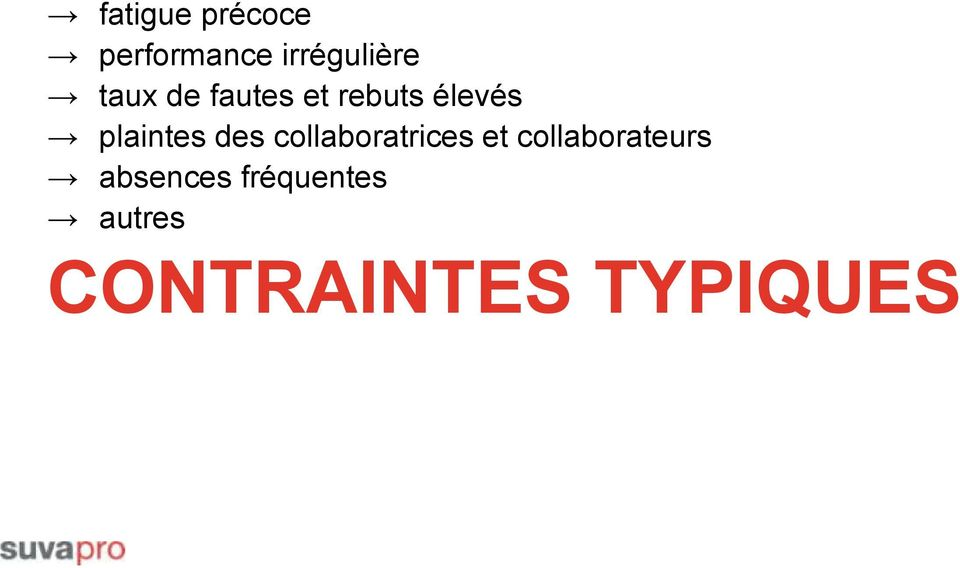 des collaboratrices et collaborateurs