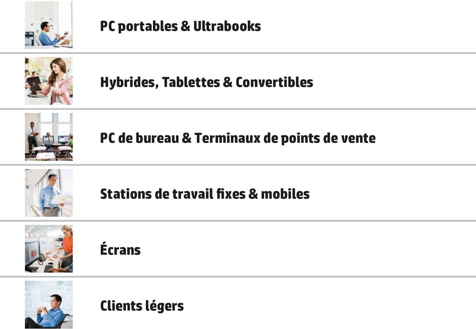 Terminaux de points de vente Stations de
