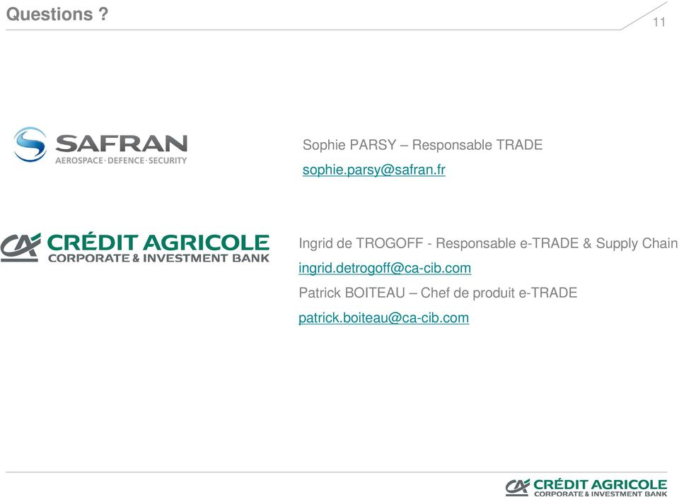 fr Ingrid de TROGOFF - Responsable e-trade & Supply
