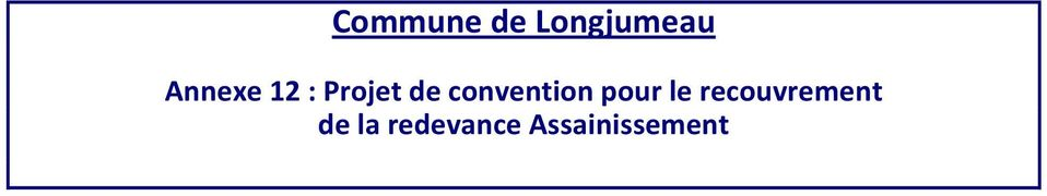 convention pour le