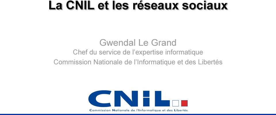 expertise informatique Commission
