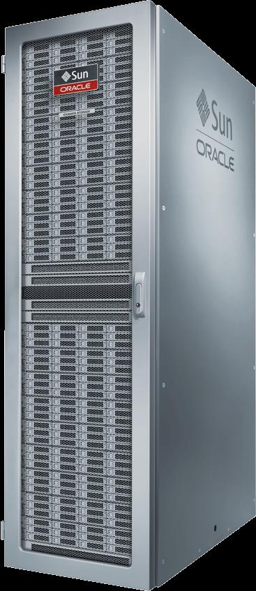 Oracle Big Data Appliance Hardware: 216 intel cores, 864 GB RAM, 648 TB disk 40 Gb/s InfiniBand, inter-rack, node connectivity 10 Gb/s Ethernet, data center connectivity System Software: