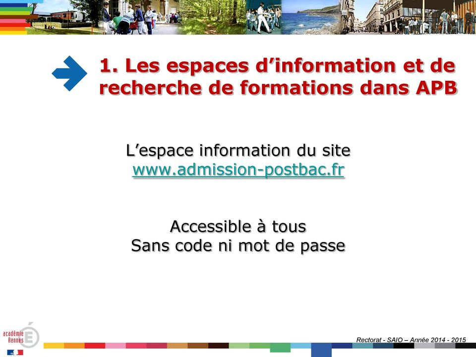information du site www.admission-postbac.