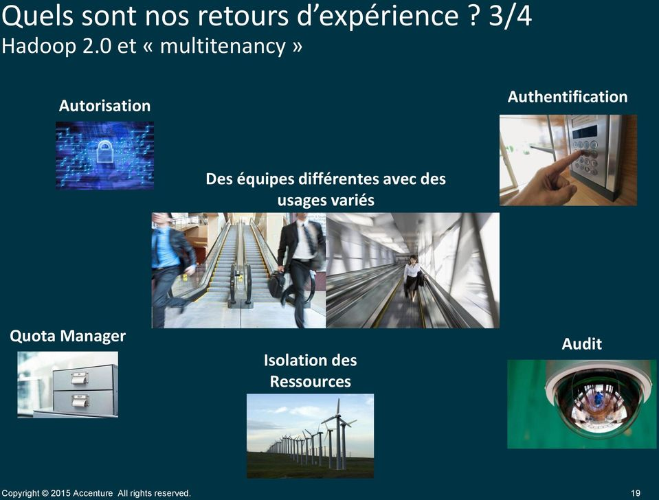 0 et «multitenancy» Autorisation