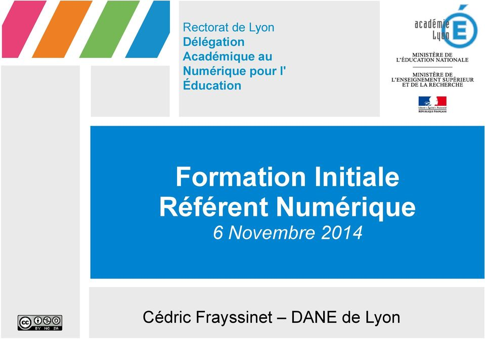 Éducation Formation Initiale