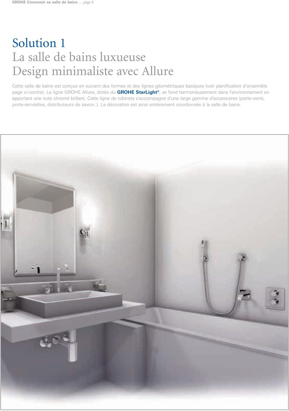 grohe concevoir sa salle de bains pdf. Black Bedroom Furniture Sets. Home Design Ideas