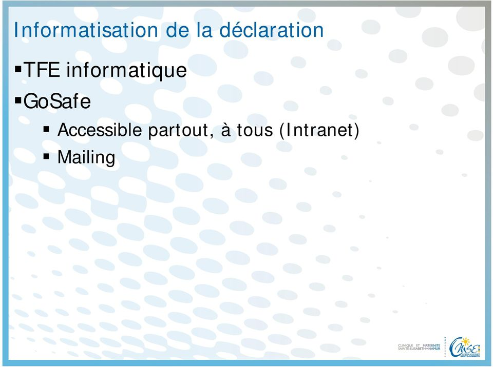 informatique GoSafe