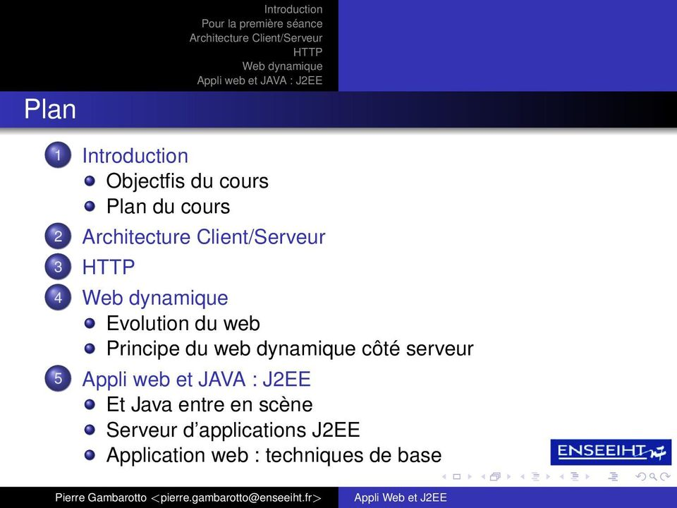 2 3 4 Evolution du web Principe