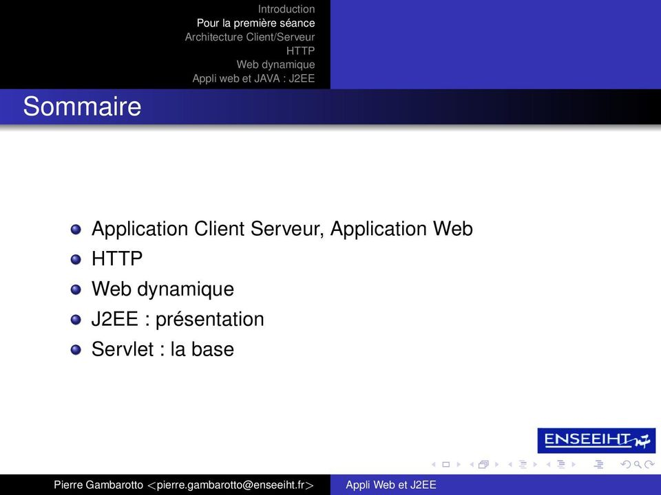 Serveur, Application Web