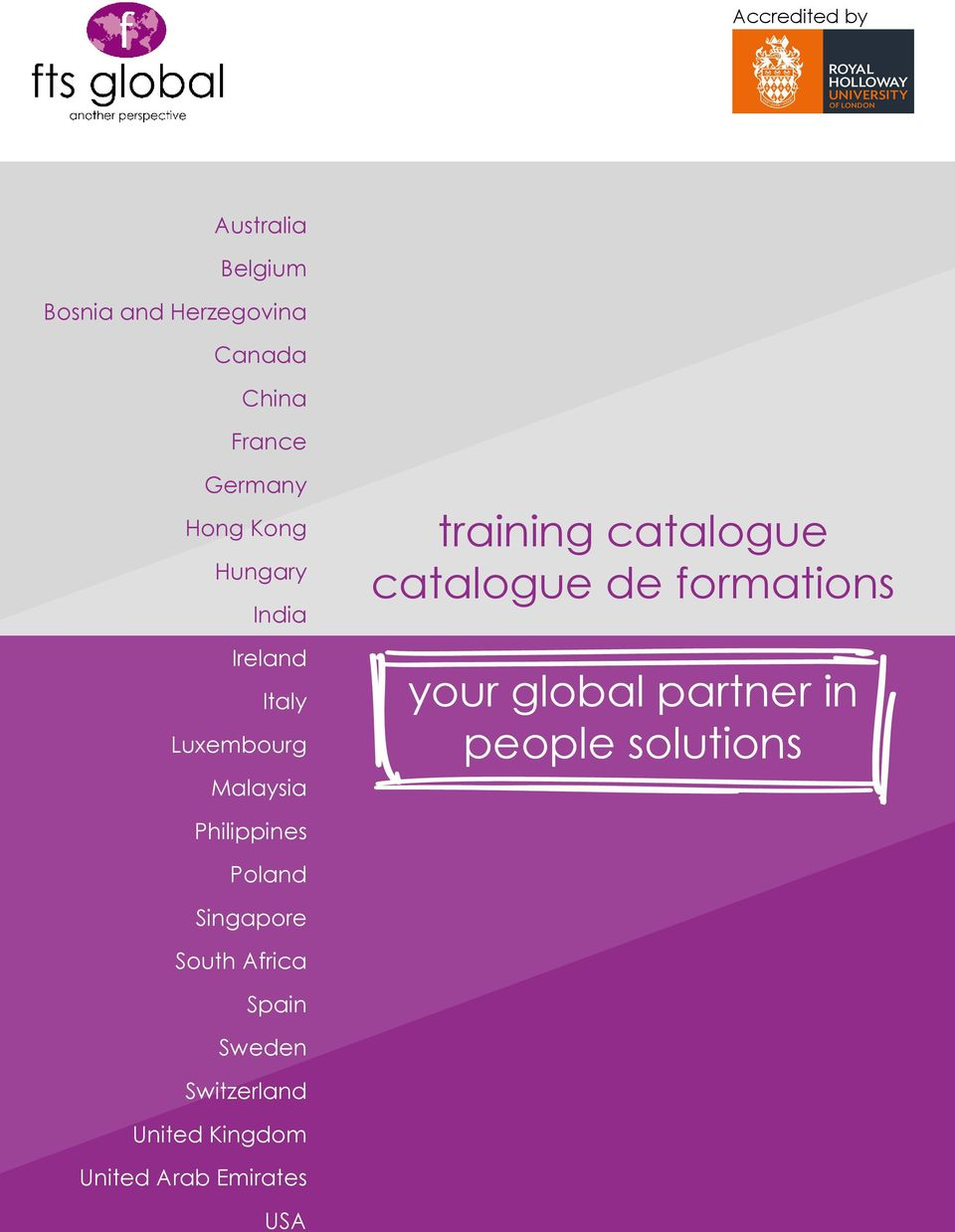 de formations your global partner in people solutions Philippines Poland