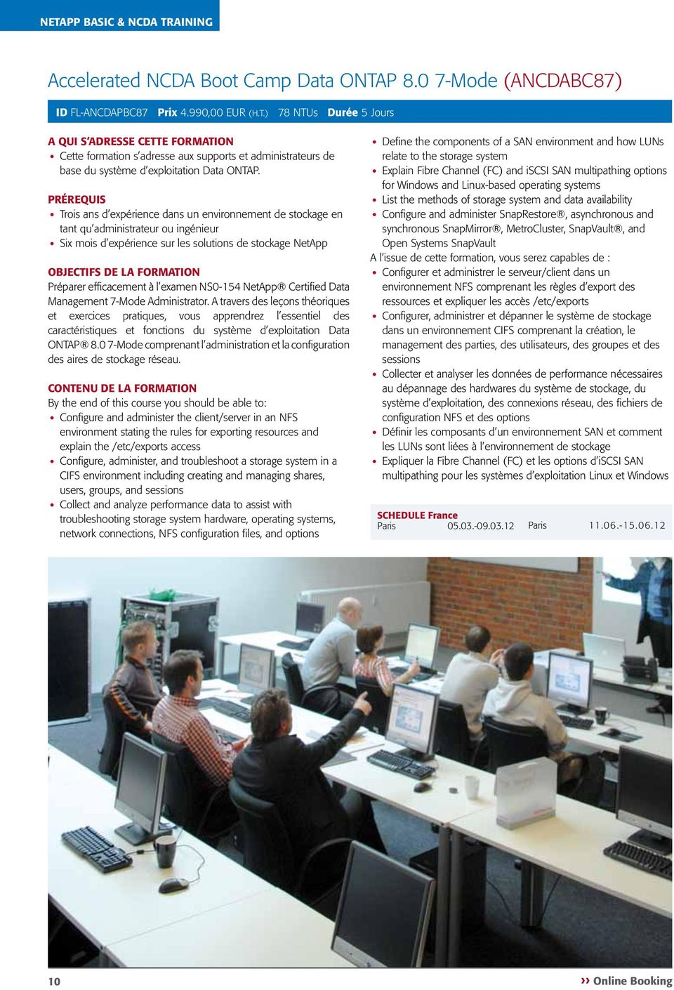 efficacement à l examen NS0-154 NetApp Certified Data Management 7-Mode Administrator.