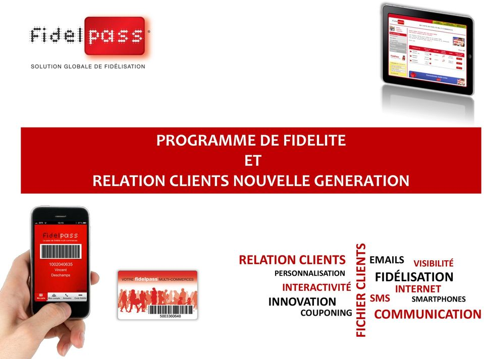 PERSONNALISATION INTERACTIVITÉ INNOVATION COUPONING
