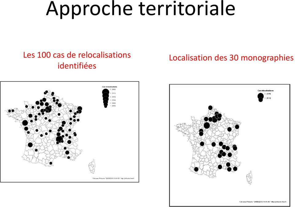 relocalisations