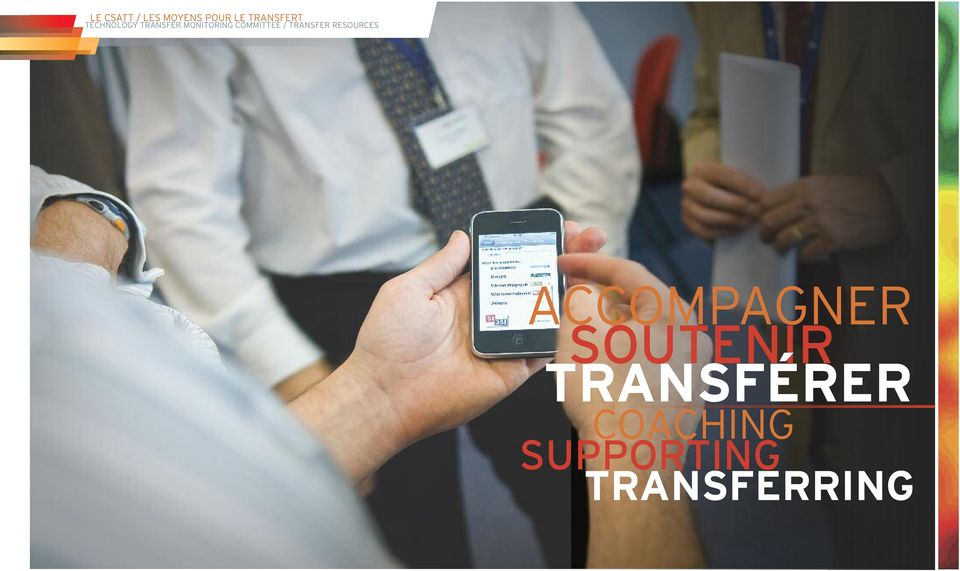/ TRANSFER RESOURCES ACCOMPAGNER SOUTENIR