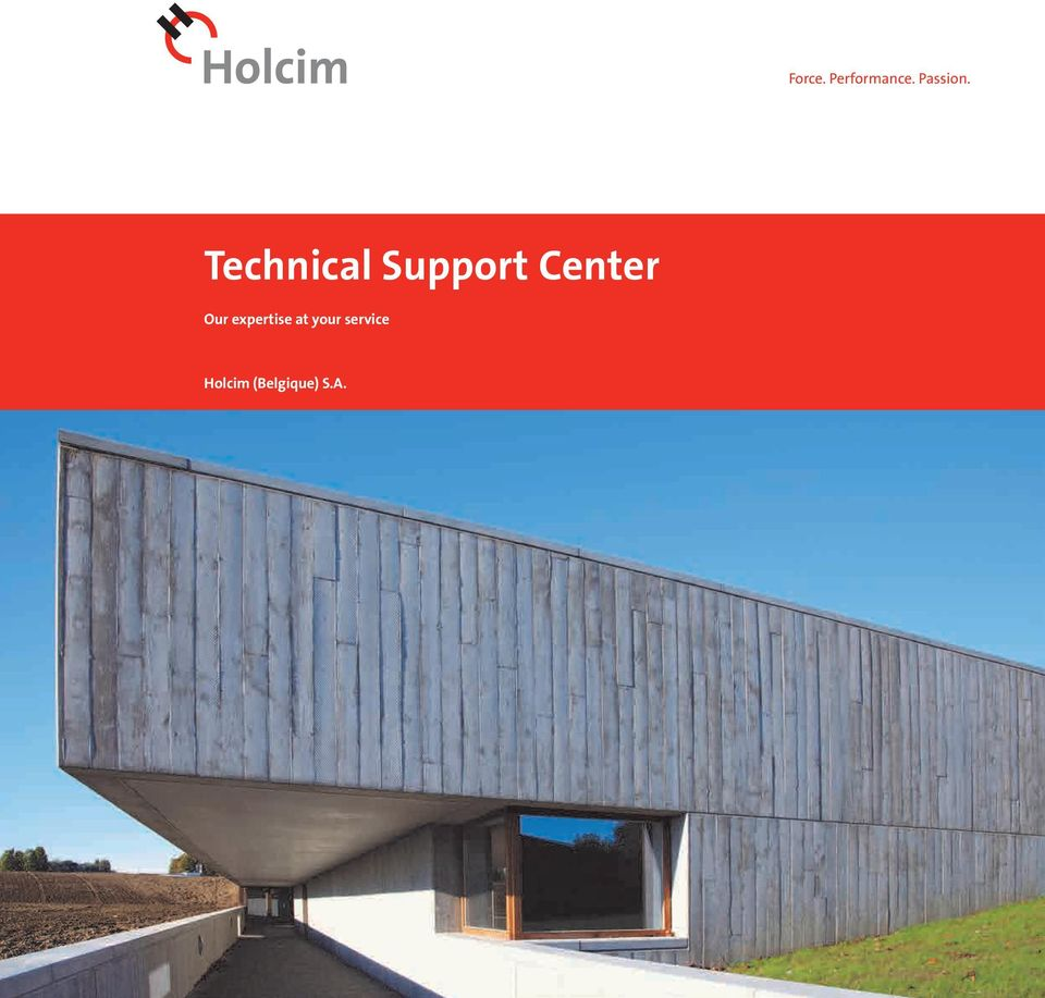 Support Center Our expertise at your