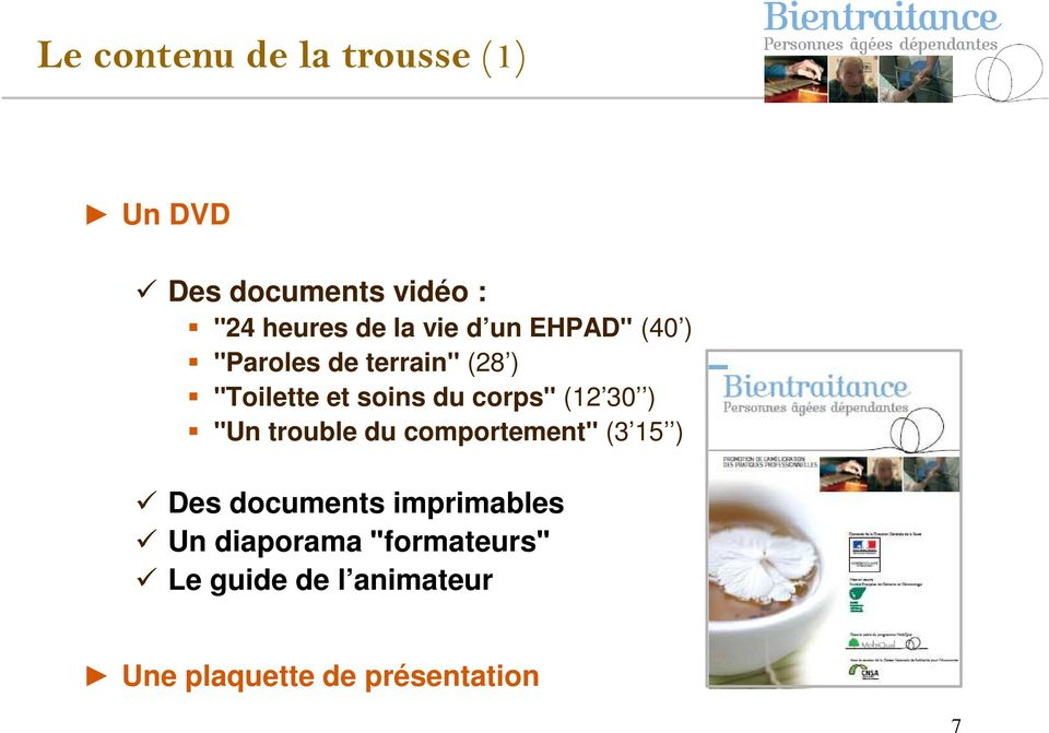corpsʺ (12 30 ) ʺUn trouble du comportementʺ (3 15 ) Des documents