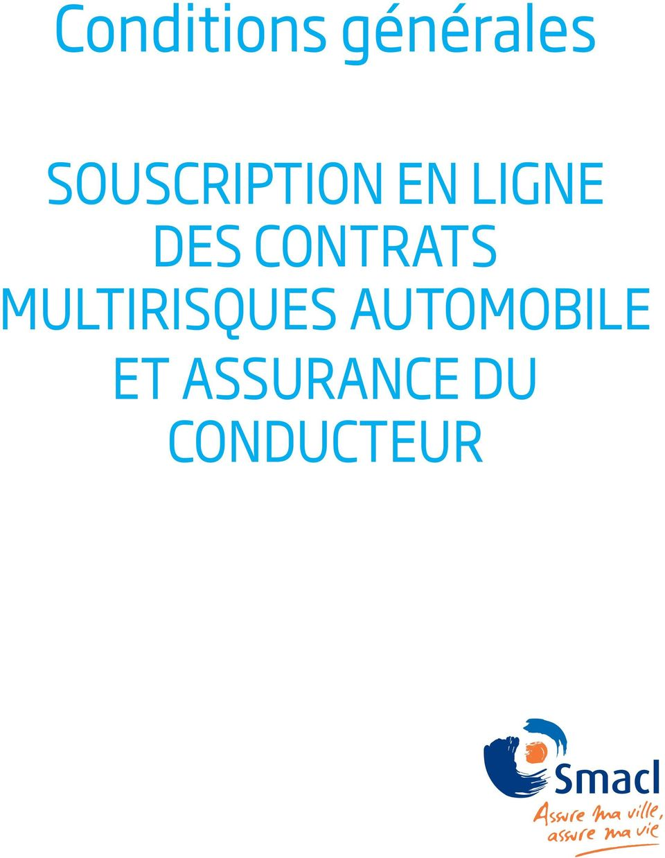 CONTRATS MULTIRISQUES