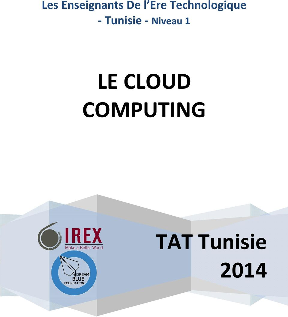 Tunisie - LE CLOUD