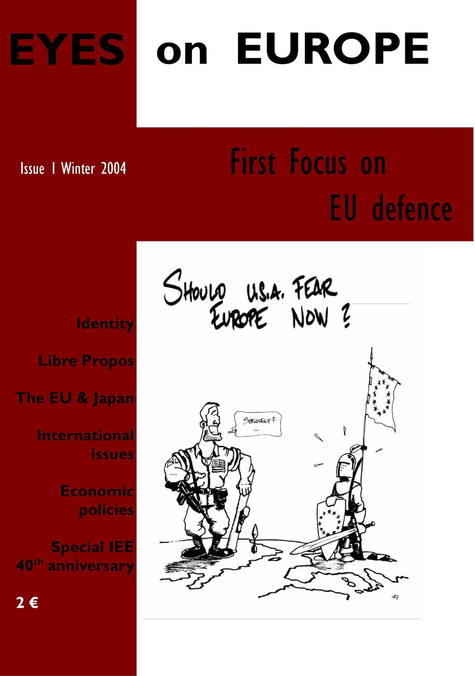 The EU & Japan International issues