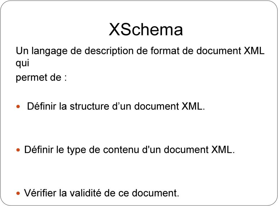 d un document XML.