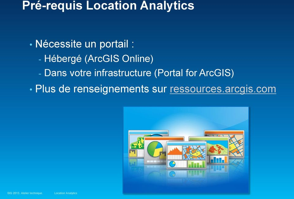 infrastructure (Portal for ArcGIS)