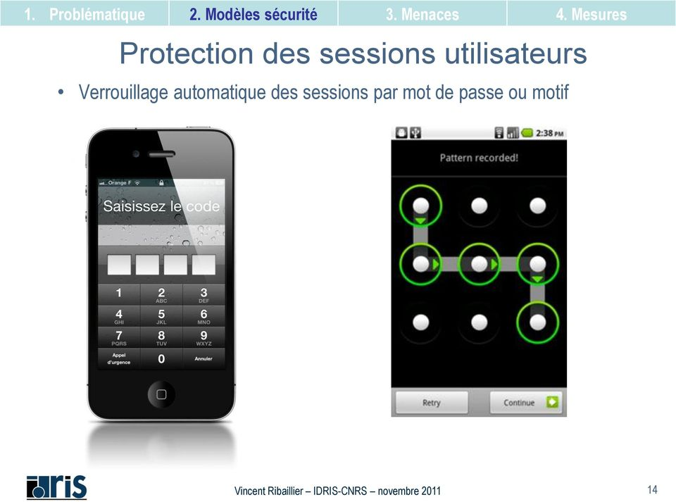 automatique des sessions