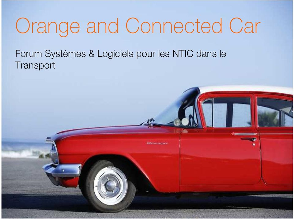 NTIC dans le Transport 1 Orange