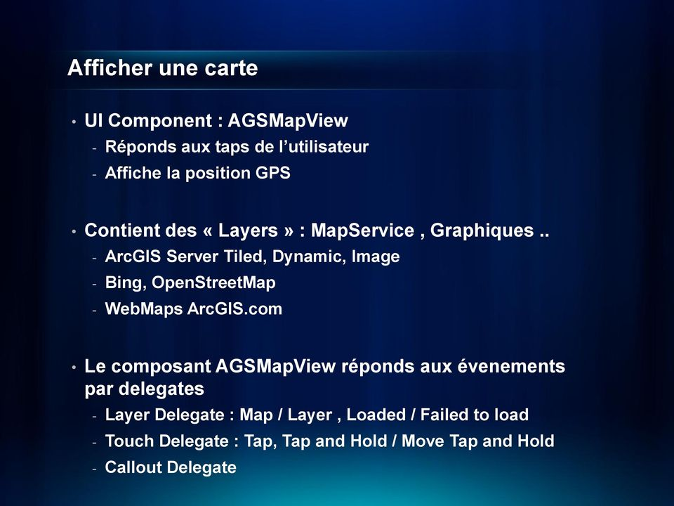 . - ArcGIS Server Tiled, Dynamic, Image - Bing, OpenStreetMap - WebMaps ArcGIS.
