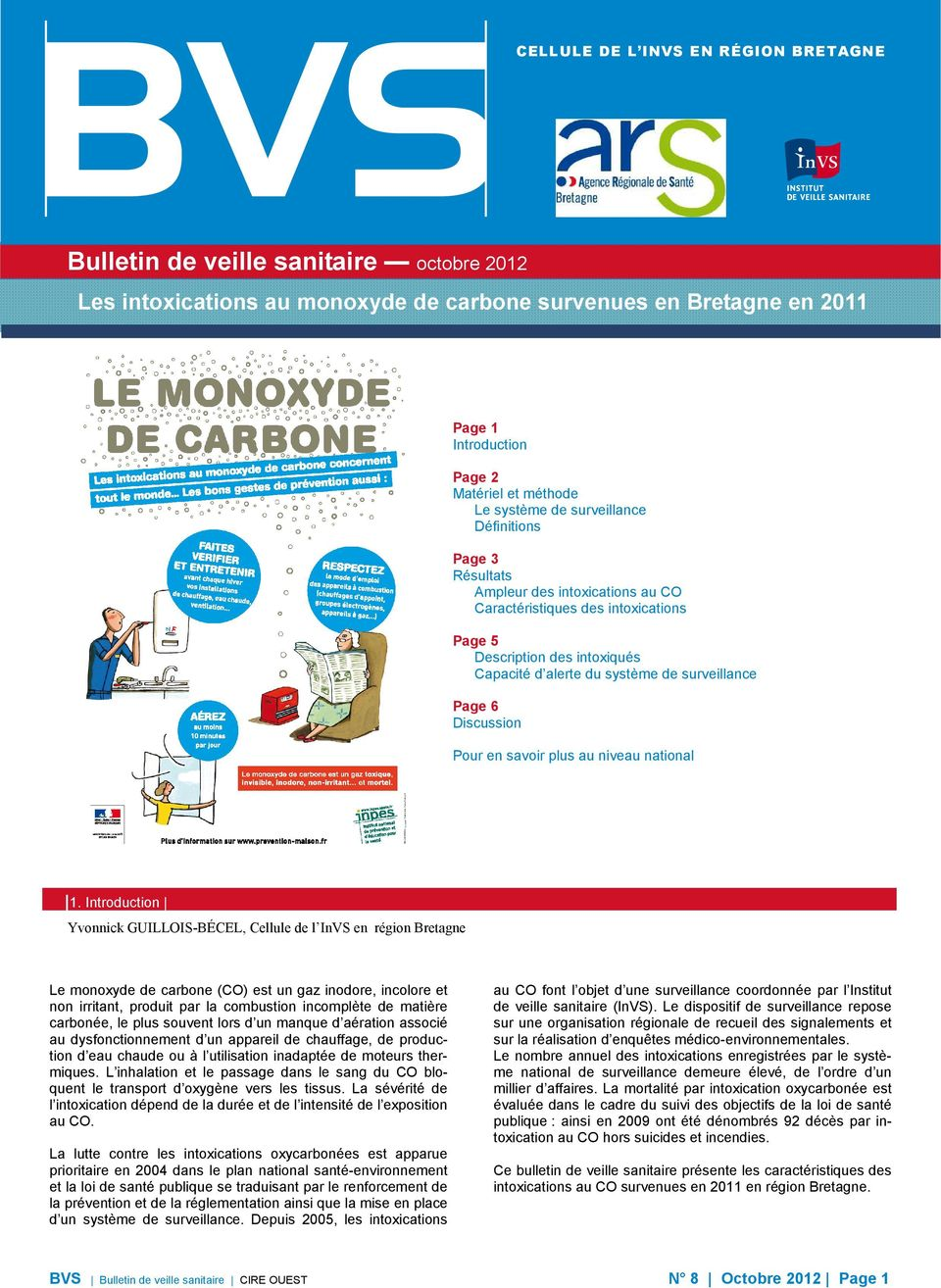 Page 6 Discussion Pour en savoir plus au niveau national 1.