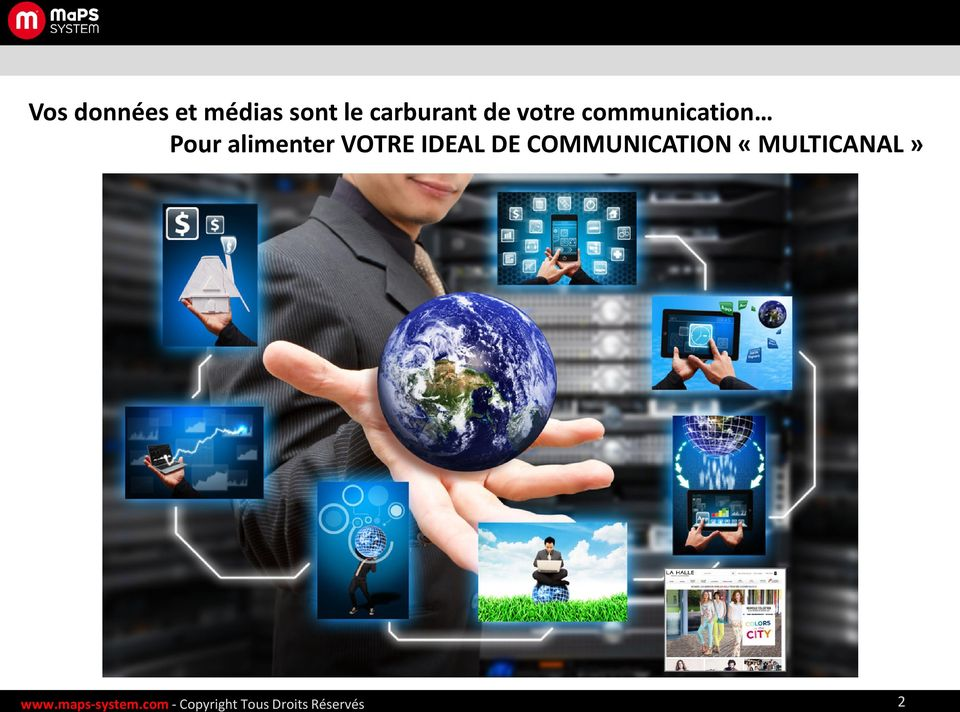 IDEAL DE COMMUNICATION «MULTICANAL» www.