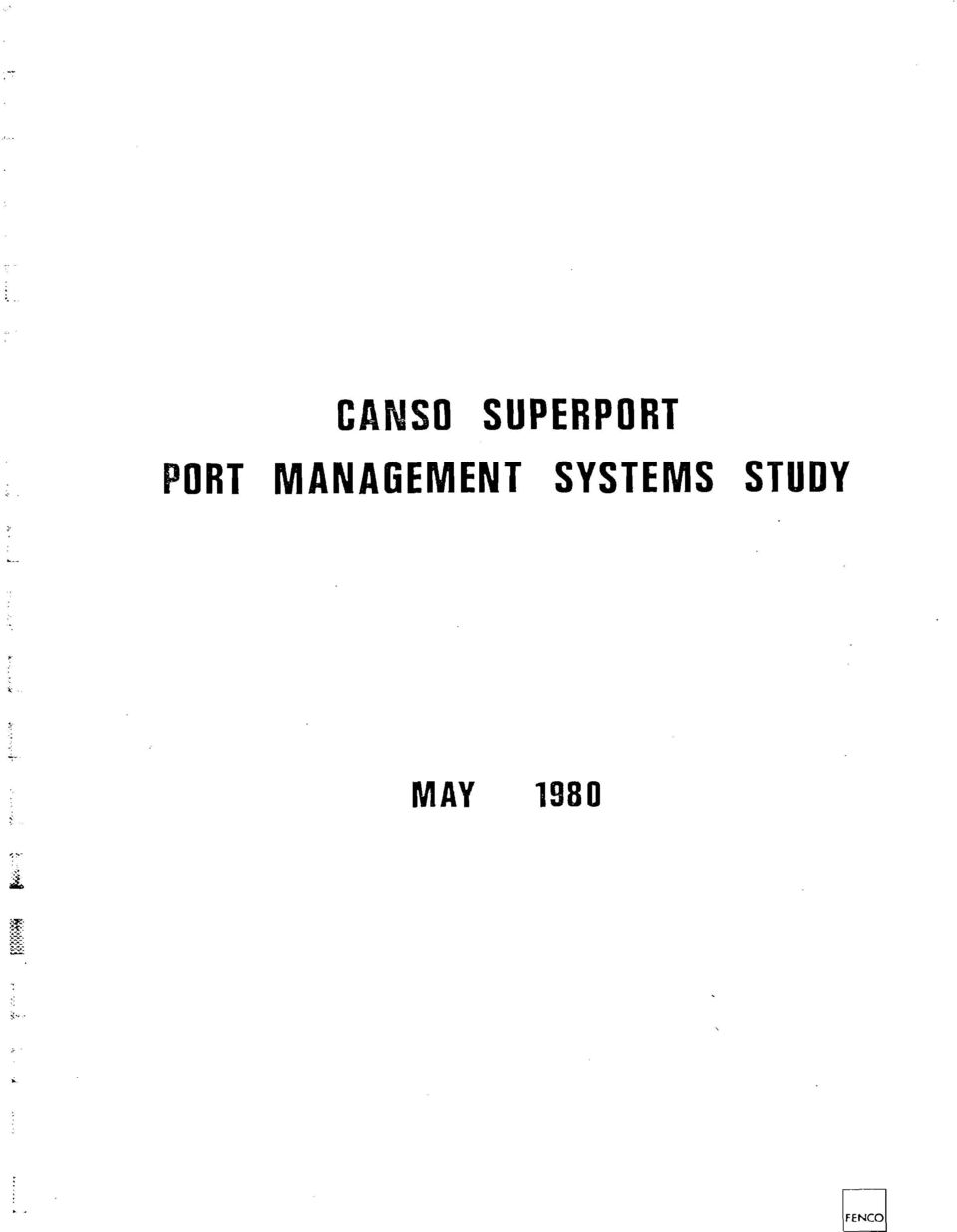 SYSTEMS STUDY