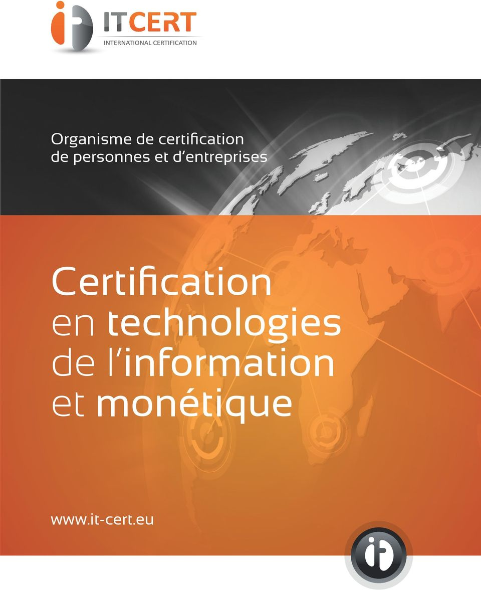 Certification en technologies de