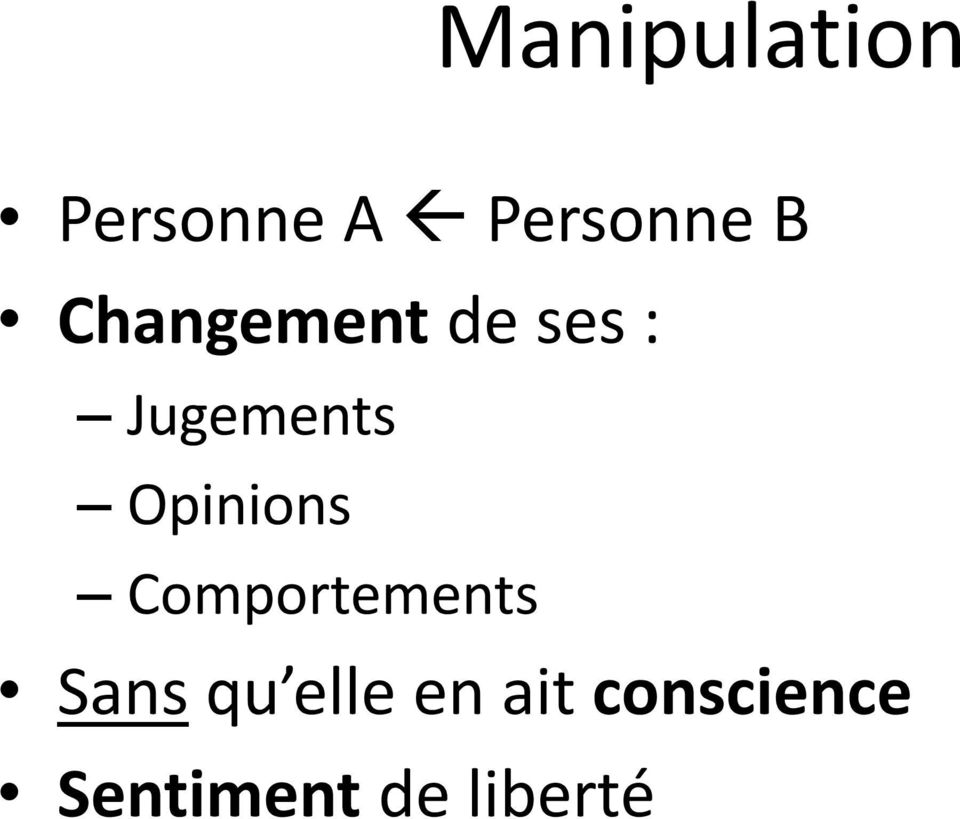 Opinions Comportements Sans qu