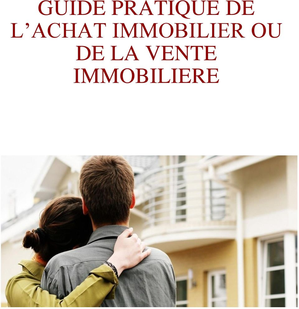 IMMOBILIER OU