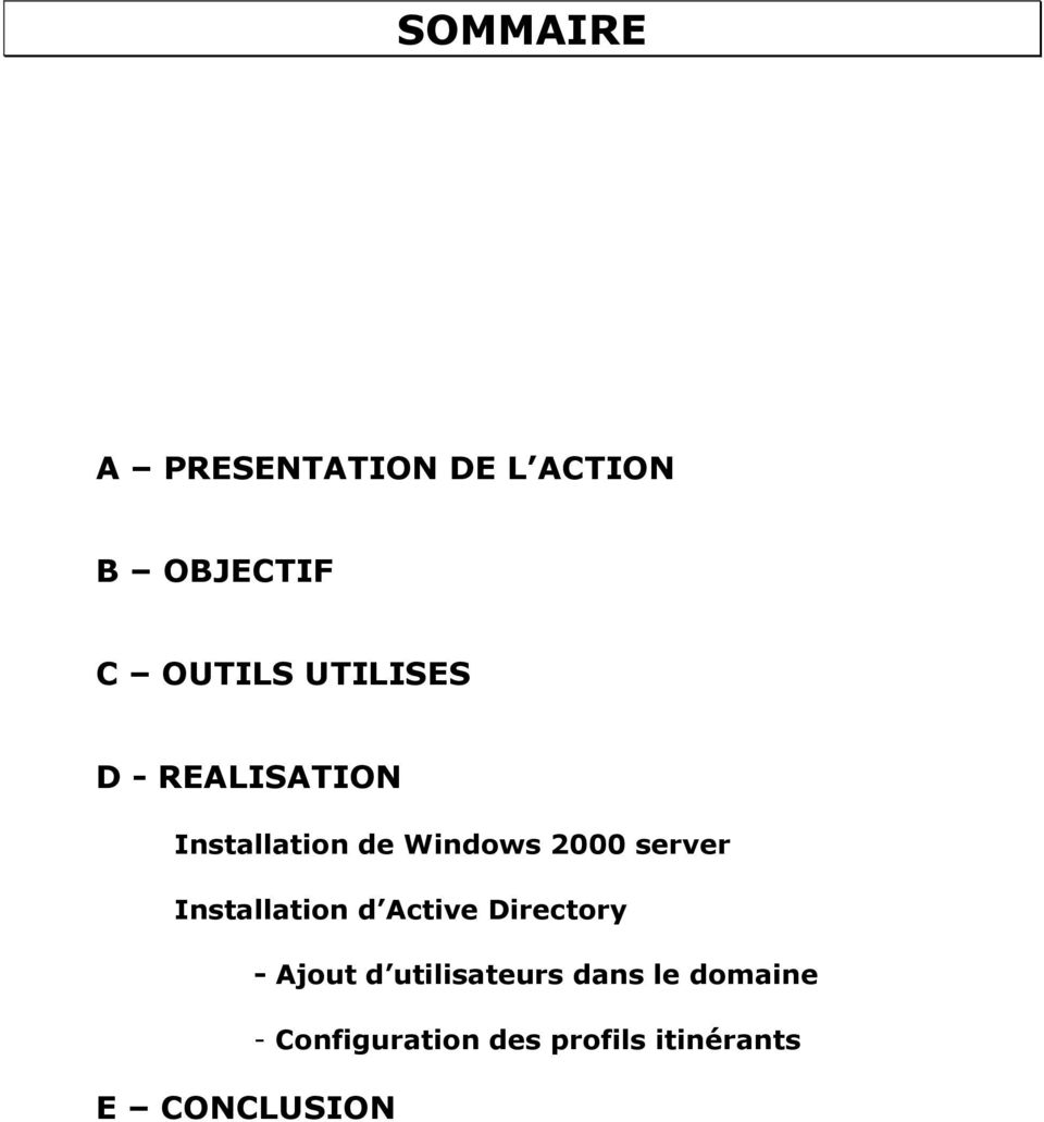 server Installation d Active Directory - Ajout d