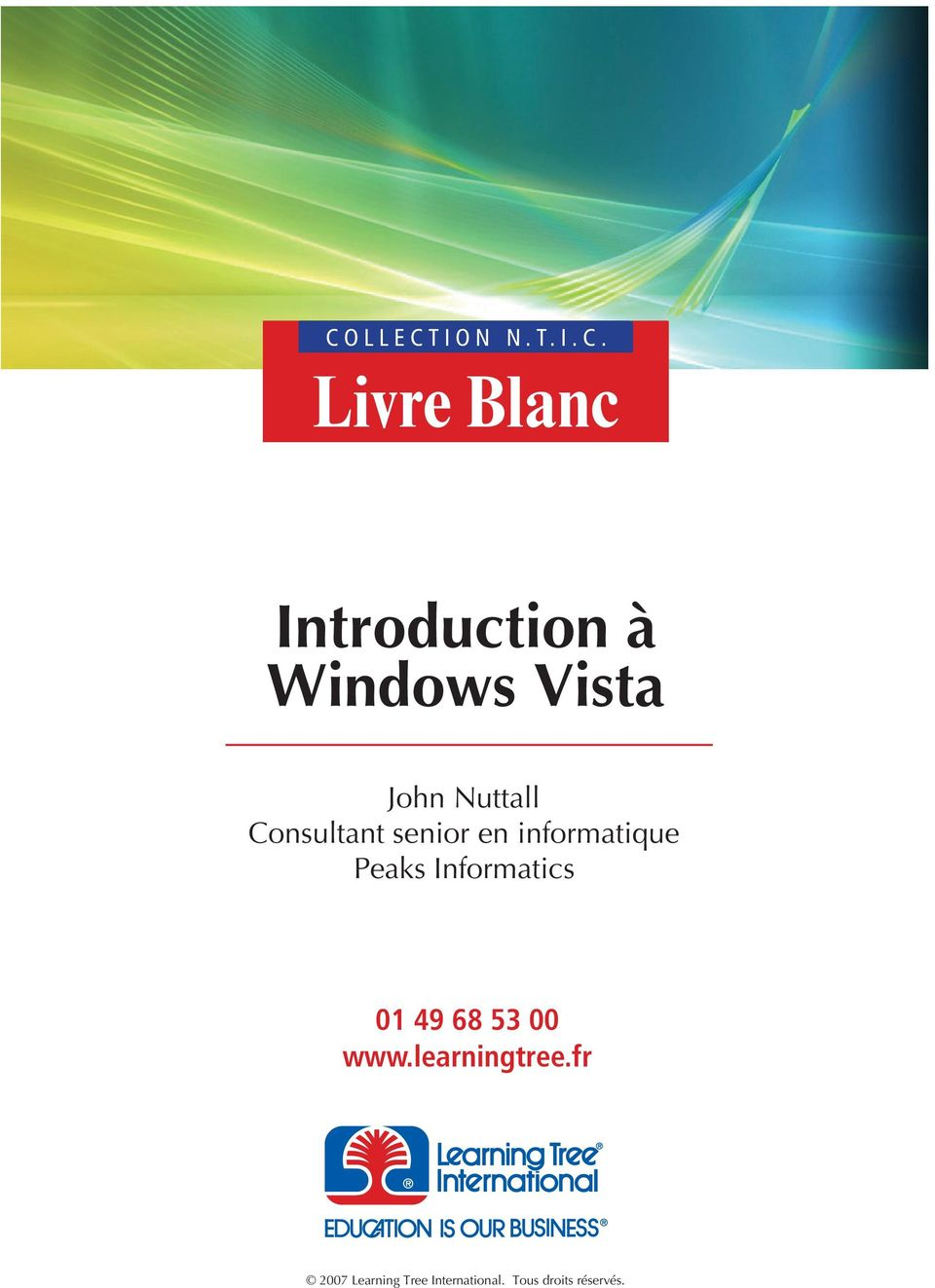 Livre Blanc Introduction à Windows Vista