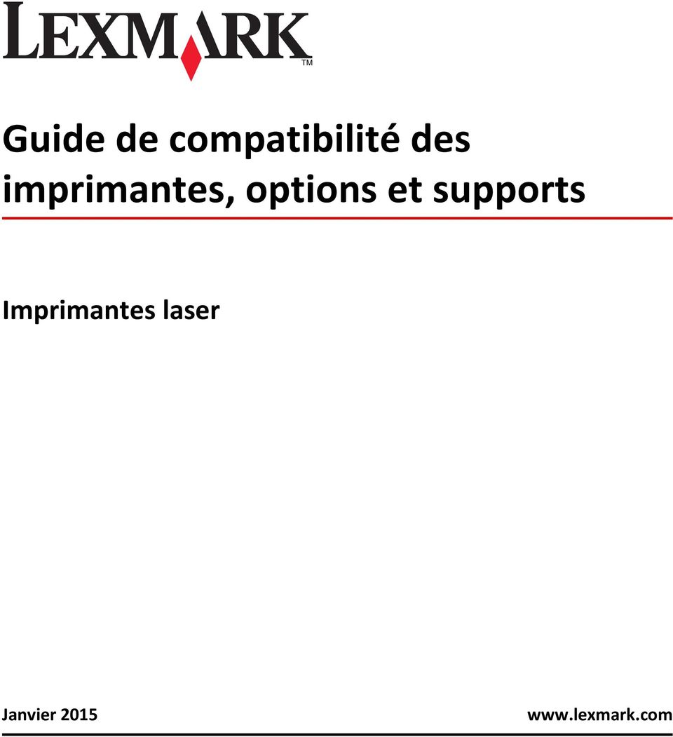 supports Imprimantes laser