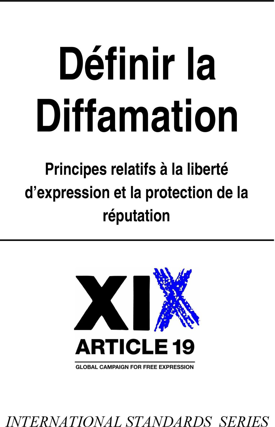 expression et la protection de