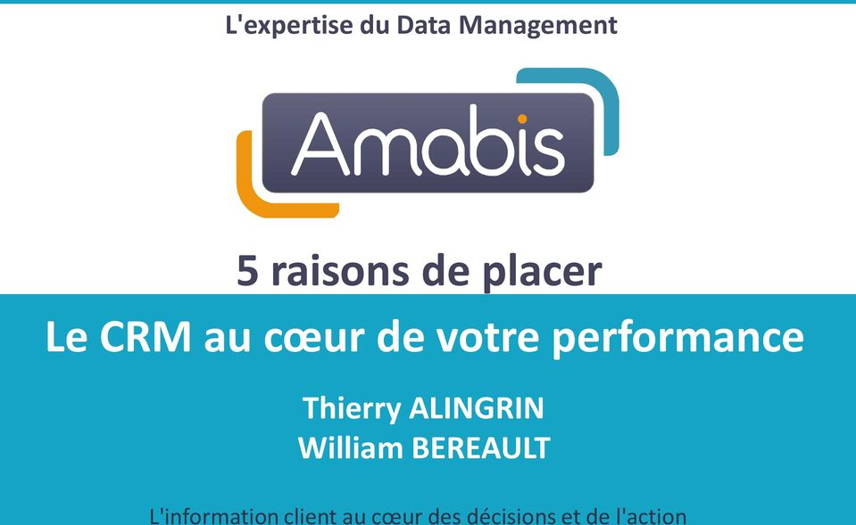 Thierry ALINGRIN William BEREAULT
