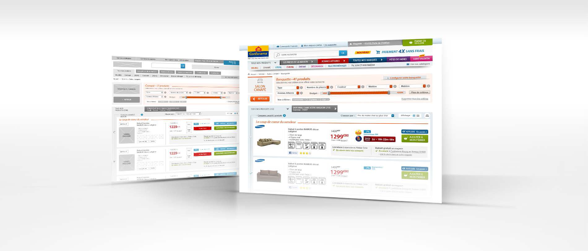 SECTEUR E-COMMERCE Conforama.fr: Optimisation du tunnel d achat Analyser le tunnel d achat du site Conforama.