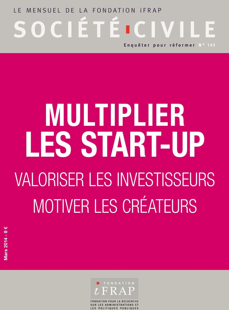 144 multiplier les start-up valoriser
