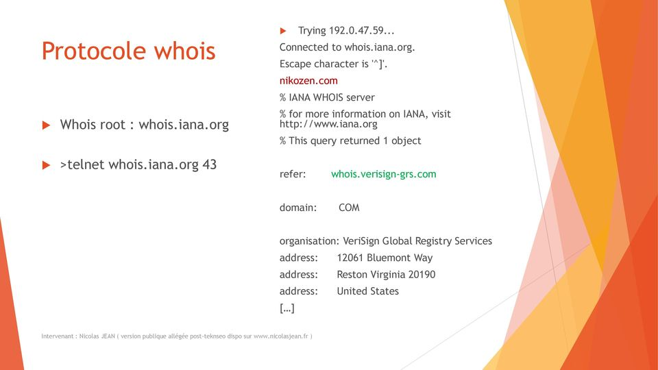 org % This query returned 1 object >telnet whois.iana.org 43 refer: whois.verisign-grs.