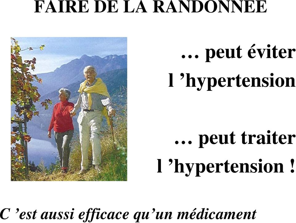 traiter l hypertension!